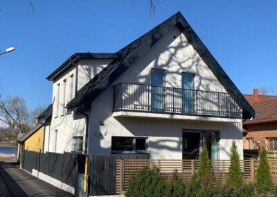 Elamu ehitustööd (maja ehitus vundamendist – katuseni, aia ehitus), 2019